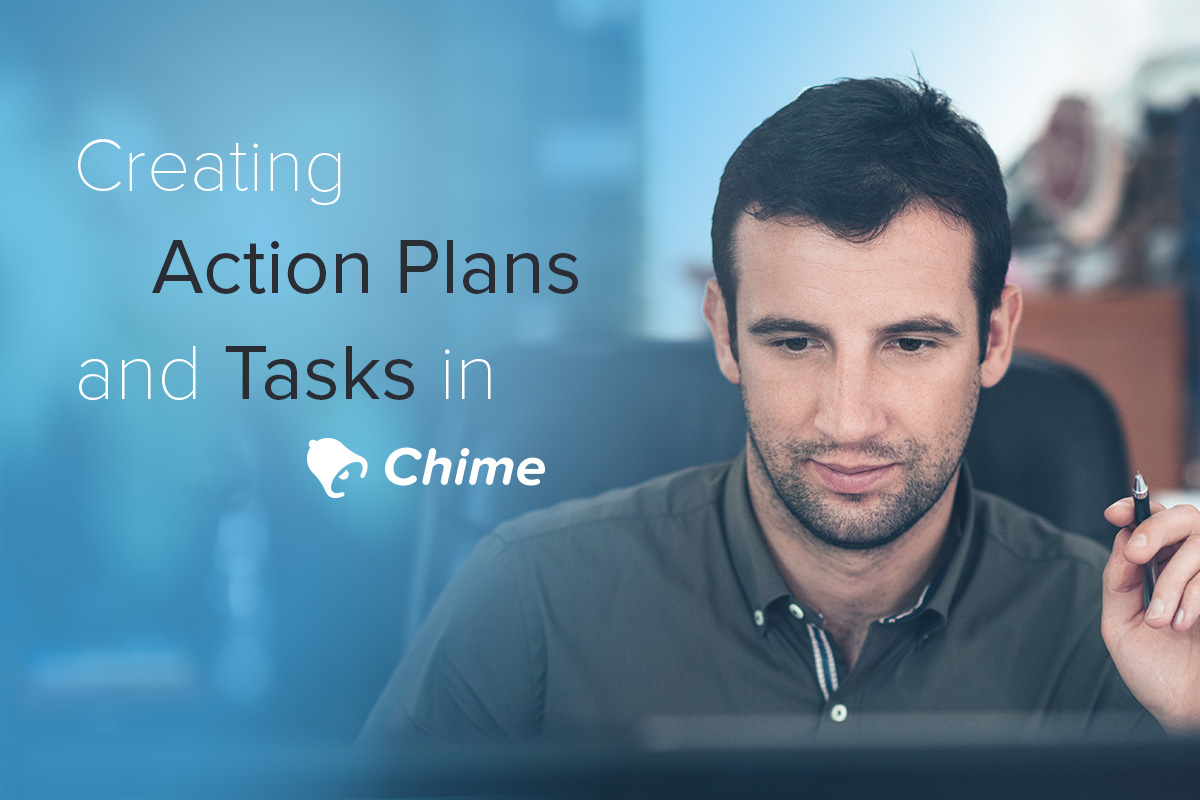 creating action plans in chime