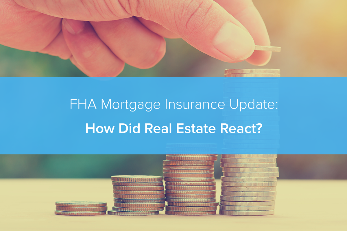fha mortgage insurance update