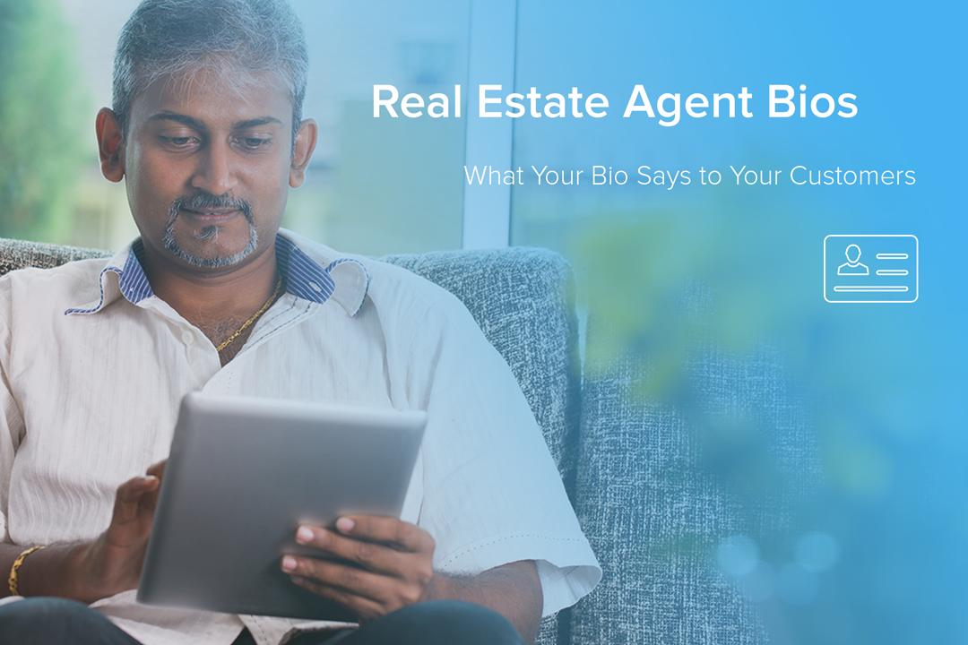real estate agent bios