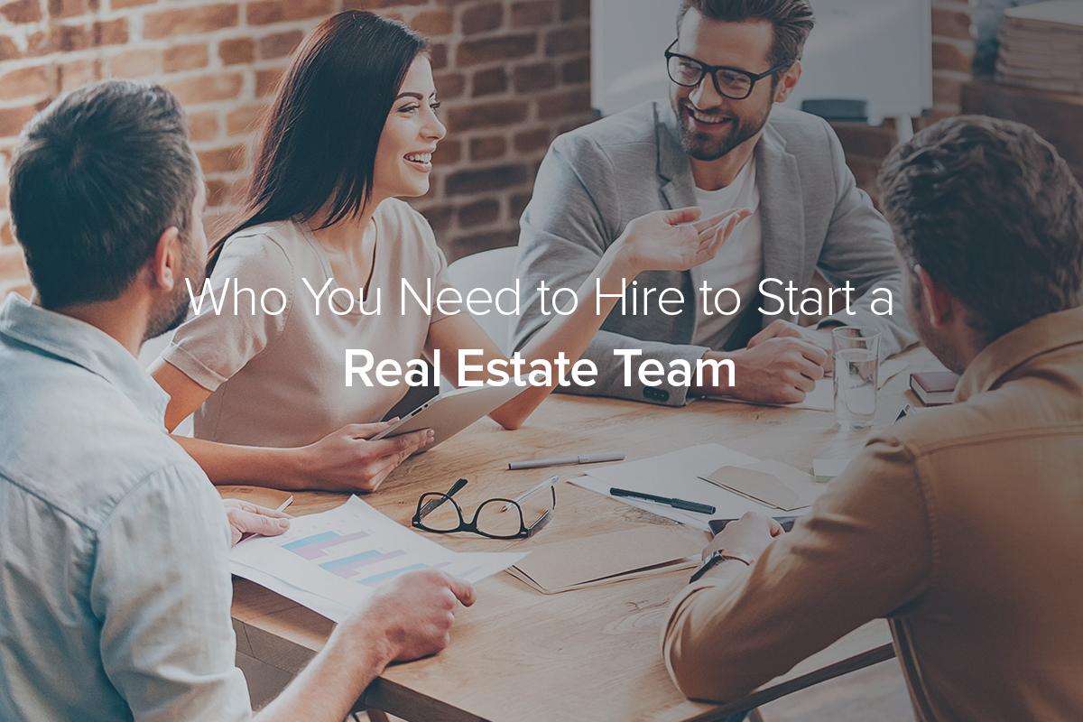 start a real estate team
